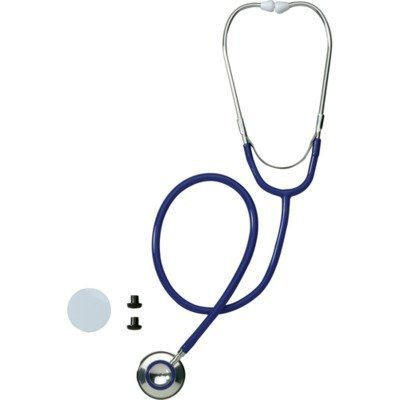 Medline MDS926202 STETHOSCOPE, DUAL-HEAD, Blue by Medline