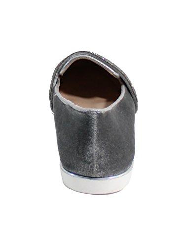 By Shoes, Ballerines Grises Pour Femmes