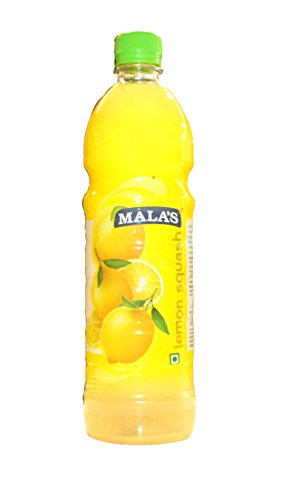 Mala's Lemon squash, 750ml  available at amazon for Rs.108