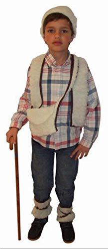 Hirten Kostüm für Jungen - 7-9 Jahre