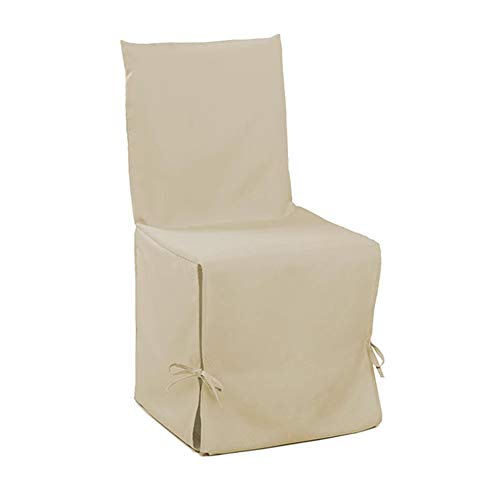 Douceur d'intérieur 1604797, fodera per sedia, essentiel , poliestere unito , beige