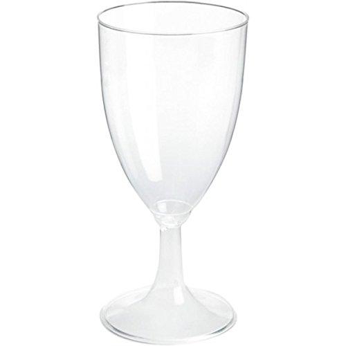 Duni 155820 Verres, vin, 23 cl, 1 pièce, Transparent (lot de 108)
