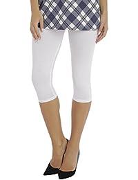 BeLady Leggings Femme en Coton 3 4 Capri Opaque Beaucoup de Couleurs 36 c0da2b91c48
