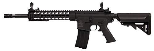 Airsoft-Colt M4 Special Force AEG Noir 180861 Cybergun Nylon Keymod/Fibre de Nylon/Couleur Noir/électrique (0.5 Joule)-Semi/Full Automatique