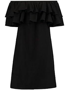 Vero Moda VMMILLA Summer Dress Sommerkleid Kleid Damen schwarz GR. XL