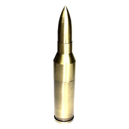 Single Flame Torch Lighters Maschinengewehr-Shell Nachfüllbar Butanbrenner Feuerzeug mit Jet-Flame 5 3/4 Zoll groß! 1 rot