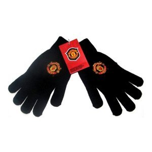 manchester-united-fc-black-knitted-gloves