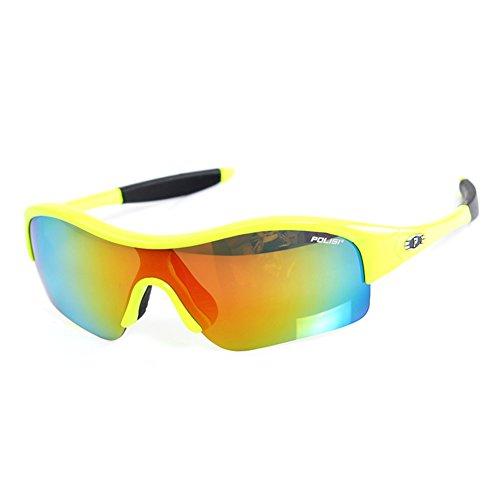 SE7VEN Kind Brille,Reiten brille Polarisierende schützende spiegel Eye-sonnenbrille Skibrillen...