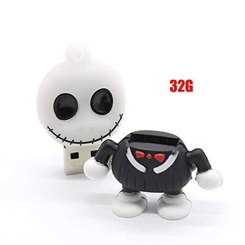 Funnyrunstore Cartoon Pen Drive Monster-Puppe USB-Flash-Speicher-Memory-Stick (32G)