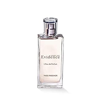 Yves Rocher - Comme une Evidence – Eau de Parfum (50 ml): Damen-Duft (Kopfnote: Rhabarber, Herznote: Rose, Jasmin, wildes Maiglöckchen)