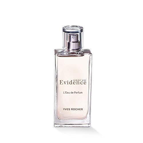 Yves Rocher COMME UNE EVIDENCE Eau de Parfum, blumig grüner Rosenduft mit Chypre-Noten, 1 x Zerstäuber 50 ml