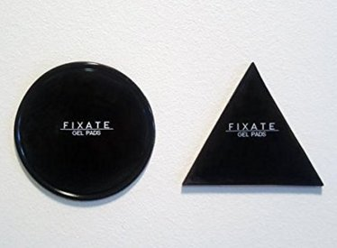 FIXATE GEL PADS , Sticky Anti-Slip GEL Pads - can Stick to Glass, Mirrors, Whiteboards, Metal, Kitchen Cabinets or Tile, Car GPS and many more