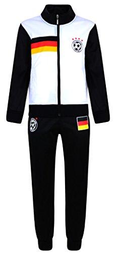 Fußball Trainingsanzug Jungen Neu Top Training Kit Set Größe Alter 4-12 (Fußball Uniform Kinder)