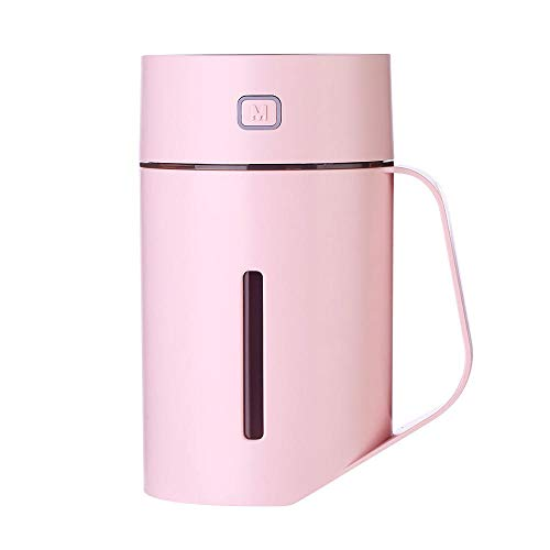 Luftbefeuchter USB Mini Kreatives Nachtlicht New Home Desktop Luftreiniger Car Pink