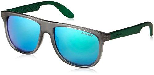 Carrera Unisex-Kinder CARRERINO 13 Z9 Sonnenbrille, Grün (Trgrey Green Multilaye), 50