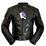 4LIMIT Sports Biker Rocker Motorradjacke >>Streetbandit<< Lederjacke Motorrad Jacke schwarz