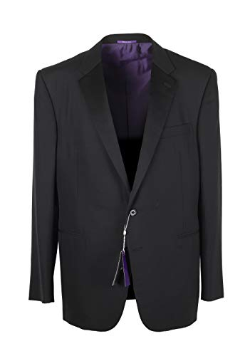 Ralph Lauren Purple Label Cl Black Tuxedo Suit Size 56 46 U.S. In Wool 2a7dd0be487