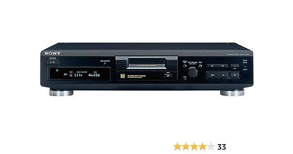 Sony Mds Je330 Minidisc Deck Schwarz Heimkino Tv Video