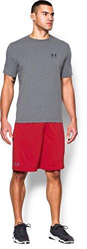 Under Armour - Pantaloncini da uomo Tech Graphic, uomo, Ua Tech Graphic, rosso, XL rosso