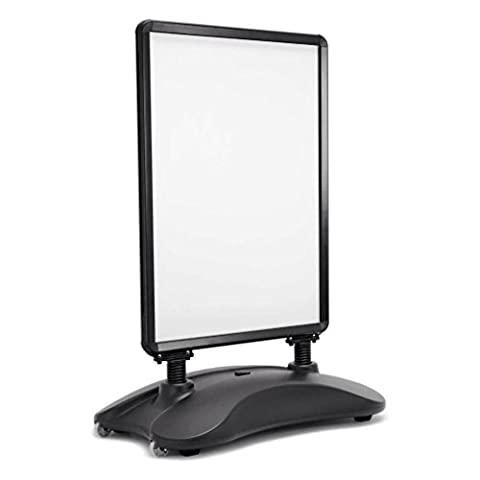 A1 WATERBASE BLACK PAVEMENT POSTER SIGN A-BOARD- SNAP FRAME SHOP DISPLAY STAND
