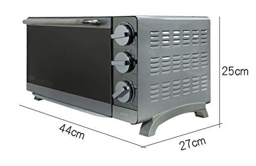 QPSGB Horno Tostador eléctrico Horno 16L Espejo eléctrico Hornear Caja - Hornos...