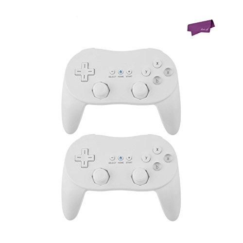 SalesLa 2x Pro Classic Joypad Controlador de juegos con cable remoto para...