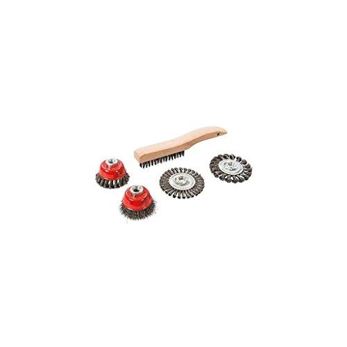 silverline-589548-spazzola-metallica-tazza-e-twist-knot-wheel-set-5-pezzi