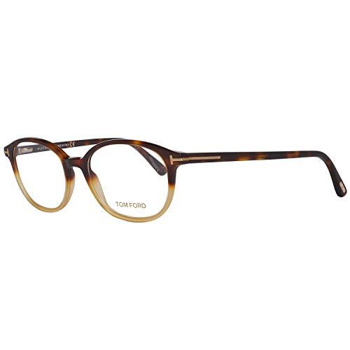 Tom Ford Für Frau 5391 Blonde Tortoise Kunststoffgestell Brillen, 52mm