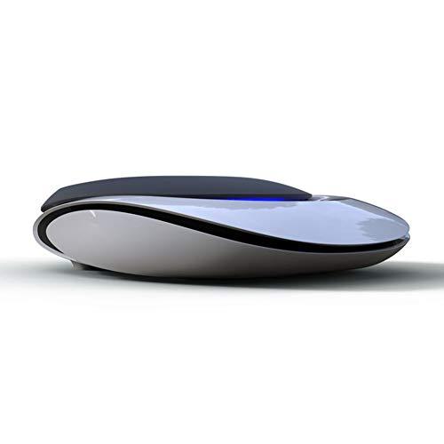 Ngls Solar Aromatherapie Maschine Car Air Lufterfrischer, Elektronischer Auto-Sauerstoff-Riegel mit negativen Ionen, Monokristallines Silizium Hocheffizientes Dünnschichtsolarmodul,Black