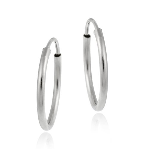 10k-white-gold-11mm-mini-endless-hoop-earrings