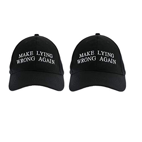 Wrong Again Embroidered Ball Cap1-5pack(Black 2) ()