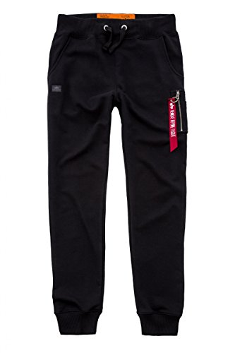 Alpha Industries X-Fit Slim Cargo Pant Jogginghose M Schwarz (Alpha-track)