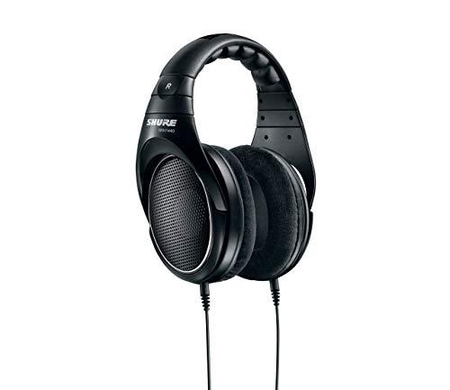 Shure SRH1440 Professionelle Kopfhörer mit offener Rückseite, Schwarz - 5