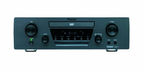 Magnat VC 1 Paket High End Dolby Virtual 2.1 DVD-Receiver inkl. Lautsprecher Quantum 603 schwarz Quantum-receiver