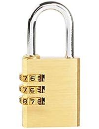 Candado de combinación de dígitos, código de Cobre Cerradura de Equipaje Cerradura de gabinete