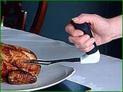 Preisvergleich Produktbild Fleischgabel mit ergonomischer Griff