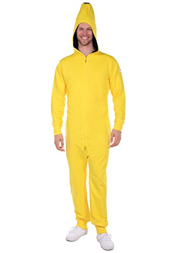 Chiquita Bananen Halloween Kostüm - Tipsy Elves Banana Halloween Kostüm -