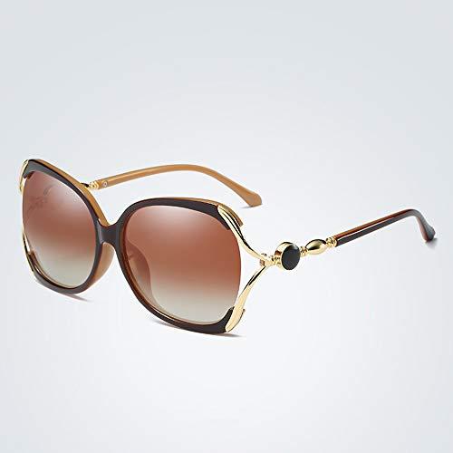 Frauen polarisierten Sonnenbrillen Outdoor Angeln Sonnenbrillen Sport Sonnenbrillen Driving Brillen sind sehr gut geeignet zum Fahren Angeln und Laufen,Gold