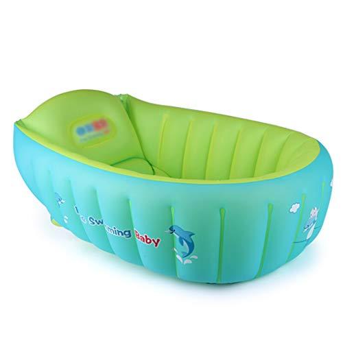 FGF Aufblasbares Bad neugeborenes Baby Kind Isolierung badewanne Becken Baby Lernen Sofa Bad Stuhl Baby Baden Pool 123 (Size : B)