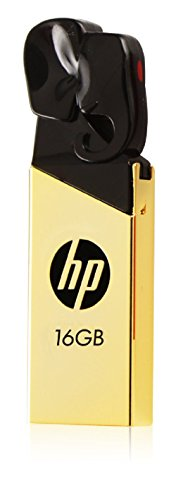 HP v239g 16GB USB Flash Drive (Gold Metallic)  available at amazon for Rs.549