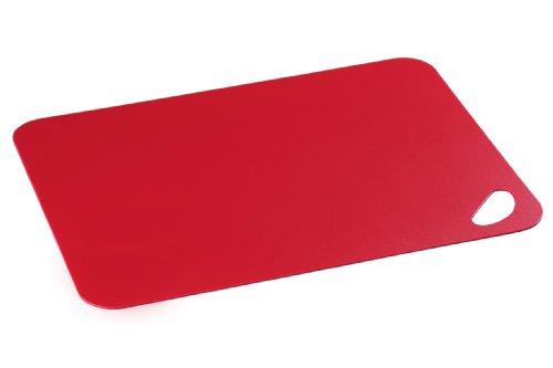 Kesper 30548 Schneidunterlage aus Peva-Kunststoff, Maße - 38 x 29 x 0.2 cm, rot