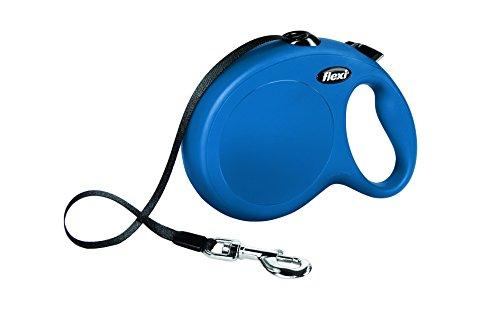 Flexi Cl30T8.210.Bl Roll-Leine New Classic L Tape 8 M, blau