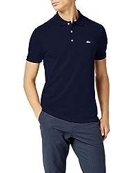 Lacoste Herren Poloshirt, Blau (Marine), XX-Large (Herstellergröße: 7)