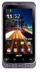 Acer Liquid Stream S110 Single SIM Schwarz, Silber – Smartphones (9,4 cm (3.7 Zoll), 1 GHz, Grau)
