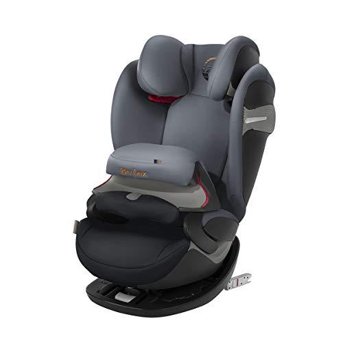 CYBEX Gold 2-in-1 Kinder-Autositz Pallas S-Fix, Für Autos mit und ohne ISOFIX, Gruppe 1/2/3 (9-36 kg), Ab ca. 9 Monate bis ca. 12 Jahre, Pepper Black (Baby-auto-sitze Für Billig)