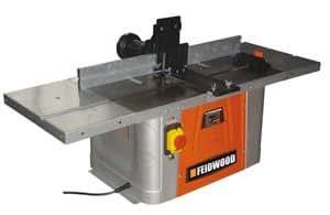Feider Feidwood - Toupie Table de fraisage 1500W, vitesse variable
