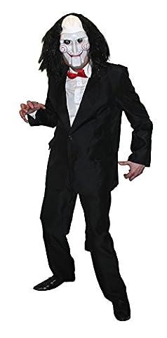 Saw Billy Costume - Déguisement pour adulte du psychotique tueur au