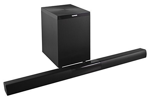 Telefunken SBS101 TV-Soundbar mit Subwoofer (Bluetooth, 3 Audio-In, 100 Watt)