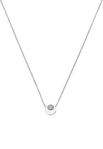 JETTE Silver Damen-Kette Silber 66 Zirkonia One Size 87465772