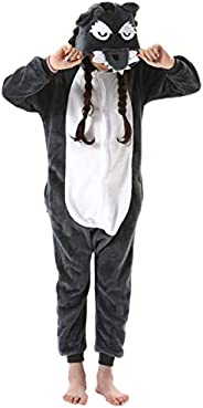 Tutina Ragazzo e Ragazza Bambini Onesies Pigiama Pigiameria Sleepwear Nightclothes Anime Cosplay Halloween Cos